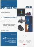 certyfikat termowizja kamery chłodzone