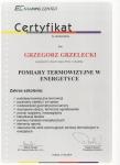 certyfikat termowizja w energetyce